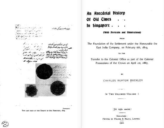 Book title page